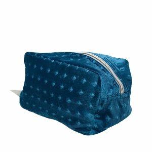 NWT Nordstrom Velvet Make Up Bag